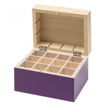 TaoCase - Holzbox für 12 ätherische Öle - BALDINI
