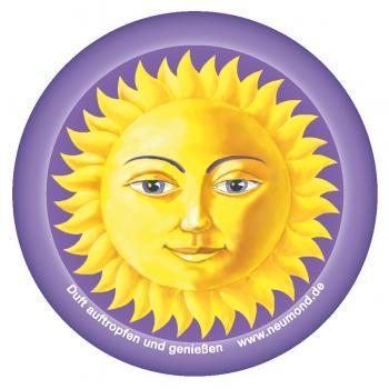 Duftvlies Sonne mit Kordel, 5er-Pack - NEUMOND