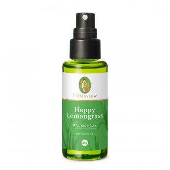 Happy Lemongrass Raumspray bio - 50ml - PRIMAVERA